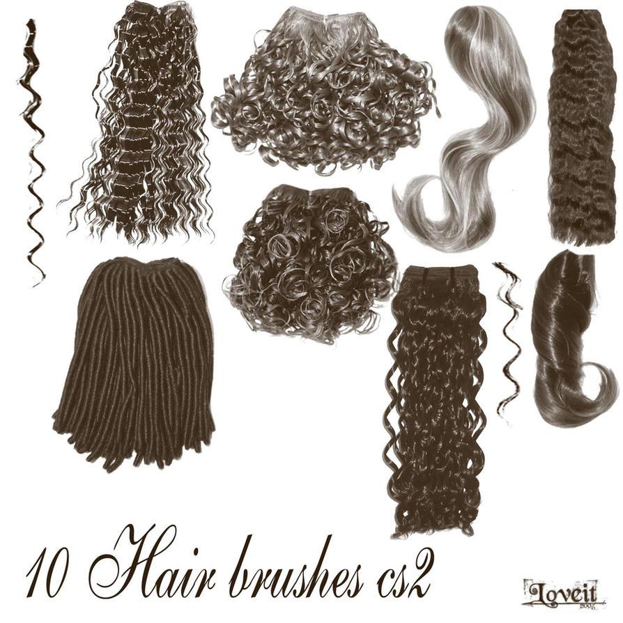 10 hair brushes cs2 by BrushHaven1