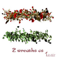 2 wreaths cs2 by BrushHaven1