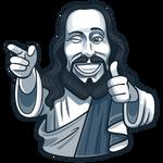 Jesus Ok - Telegram Sticker
