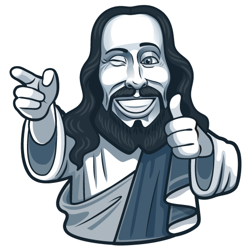 Jesus Ok - Telegram Sticker by JinKazama84
