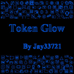 Token Glow Icons - Blue by Jay33721