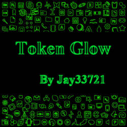 Token Glow Icons - Green by Jay33721
