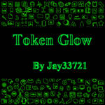 Token Glow Icons - Green