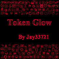 Token Glow Icons - Red by Jay33721