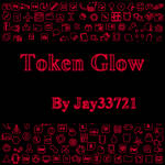 Token Glow Icons - Red