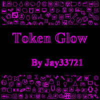 Token Glow Icons - Pink by Jay33721
