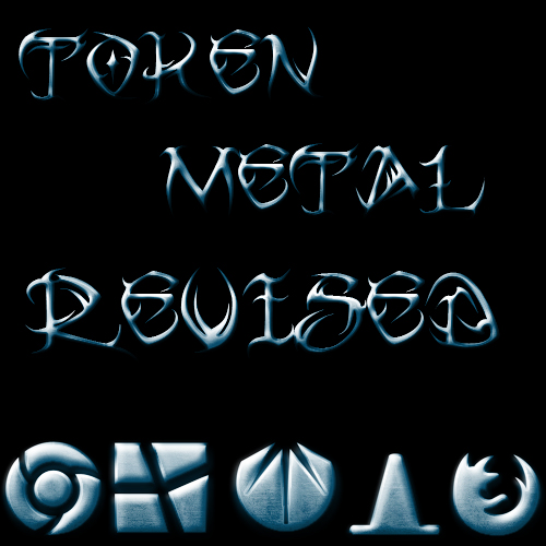 Token Metal Revised Blue by Jay33721