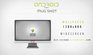 Android Robot Mug Shot by n24-second