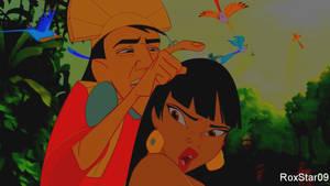 I Don't Have Lice! (Chel x Kuzco)(Animated)