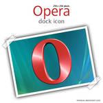 Opera dock icon