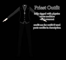 Priest Outfit +DL by CapriciousOphelia