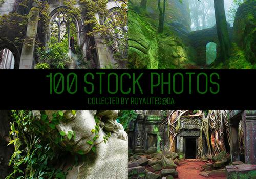 100 stock photos by Royalites