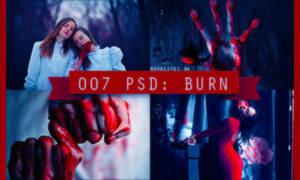 007 PSD: burn by Royalites