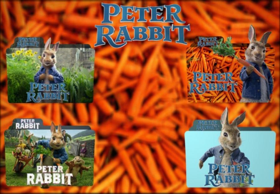 Peter Rabbit 2018 Folder Icon Pack By Bsharazen On Deviantart