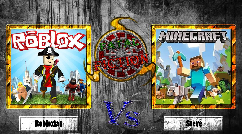 Fatal Fiction Minecraft Vs Roblox By Megabonzi16 On