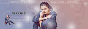 Selena Gomez Header PSD by oursheartsps