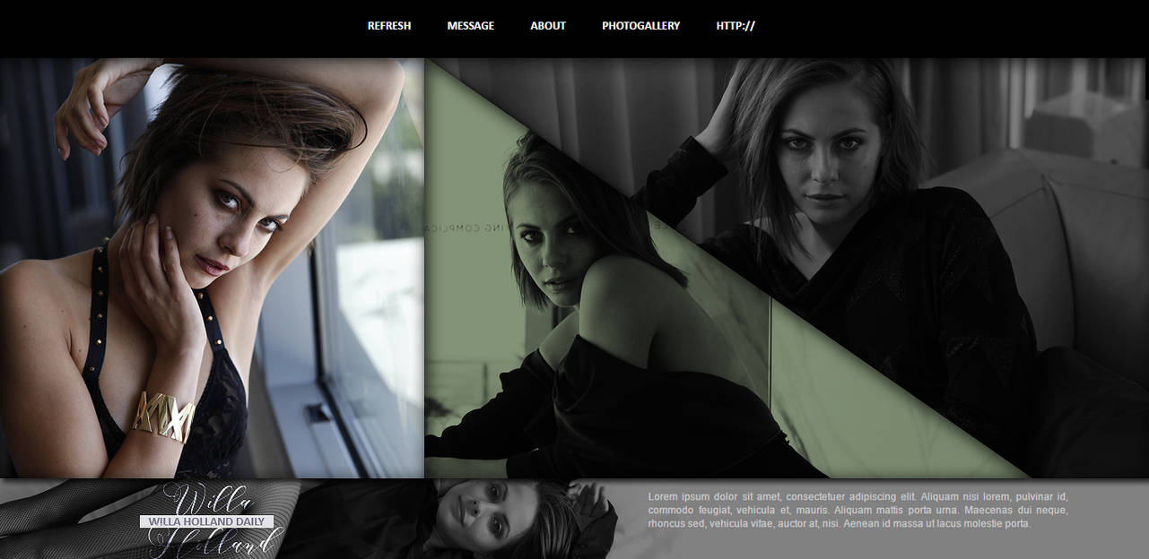 Willa Holland Header PSD by oursheartsps
