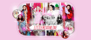Little Mix Header PSD