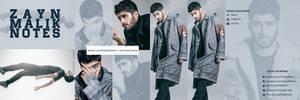 Zayn Malik Header PSD by oursheartsps