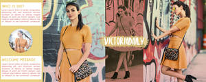 Victoria Justice Header PSD by oursheartsps