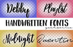 Font Pack By Oursheartsps