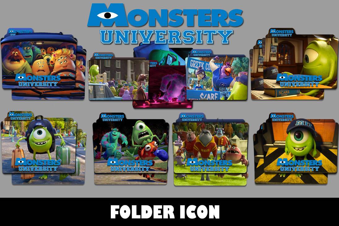 Monsters University 2013 Folder Icon By T Regs On Deviantart