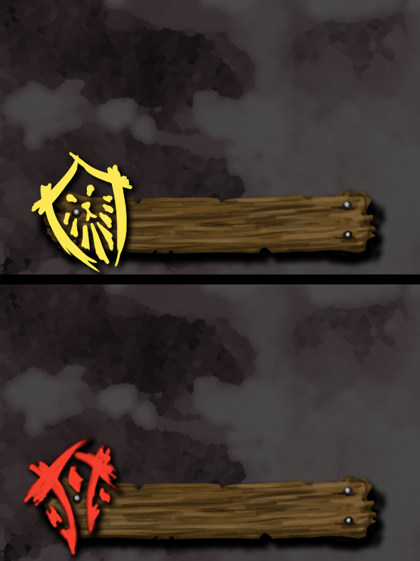 BlizzCon 2013 Horde and Alliance Badge Templates by MagicalMelonBall
