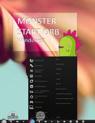 Monster Start Orb + 01 by Monstruonauta
