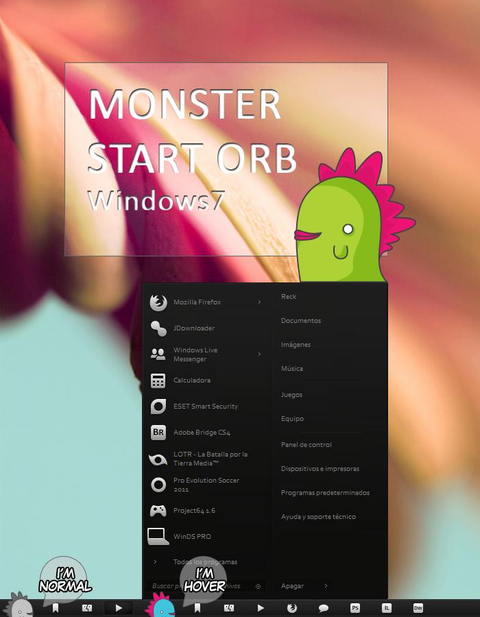 Monster Start Orb + 01 by ReckDesigns