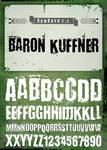 Font 'Baron Kuffner'