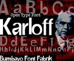Font 'KarlofF'