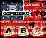 Font family 'Gipsiero'