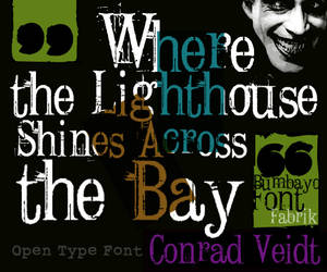 Font 'Conrad Veidt' by bumbayo