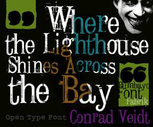 Font 'Conrad Veidt'
