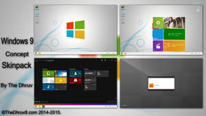Windows 9 Concept Skinpack