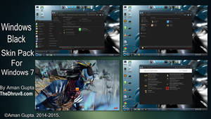 Windows Black Skinpack