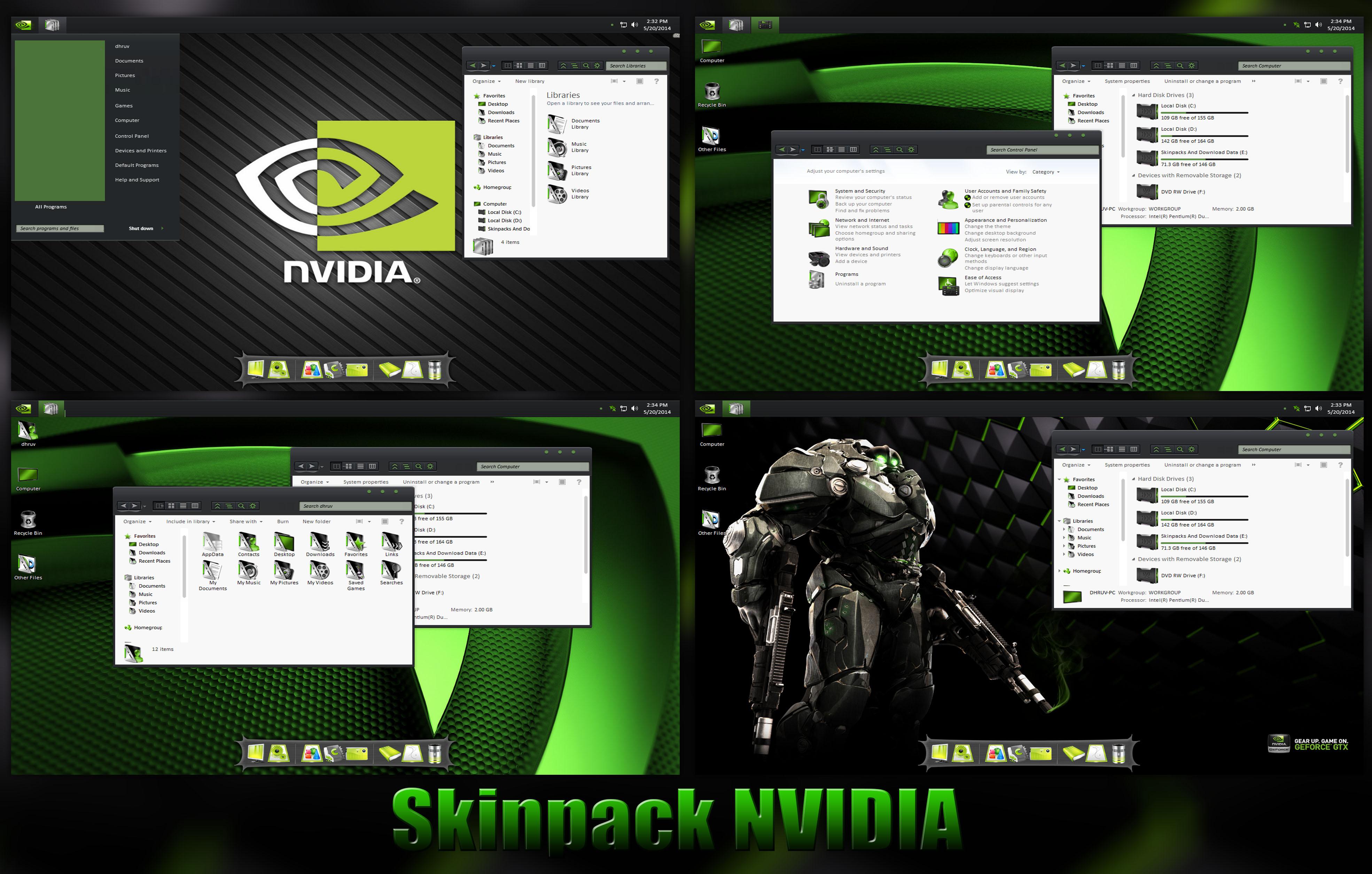 Скачать Nvidia для Windows 8
