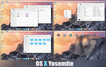OS X Yosemite SkinPack For Windows 7/8/8.1