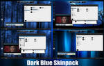 Dark Blue Skinpack For Windows 7/8/8.1
