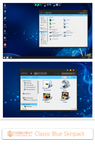 Classic Blue Skin Pack For Win7/8/8.1