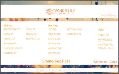 Res File Maker