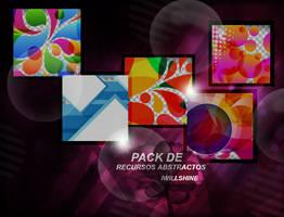 Pack de recursos abstractos by Iwillshine