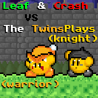 Battle of Animations~Leaf and Crash vs Twinsplays by OlManCrash