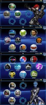 Mass Effect PS Vita Wallpaper Pack