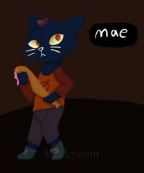 Mae from NITW by Missicyspirit