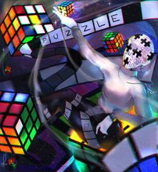 PUZZLE TIME! [GIF] by Crimsonea