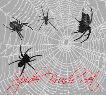 Spider Brush Set by TheLadyAmalthea