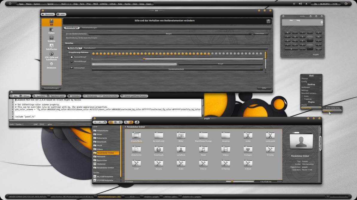 BE::BlackSheep-Orange ver. 1.0 by LaGaDesk