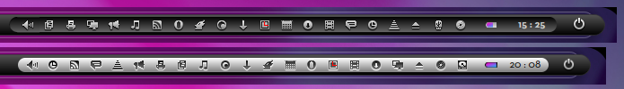 Be-Tray-Icons 16px by LaGaDesk