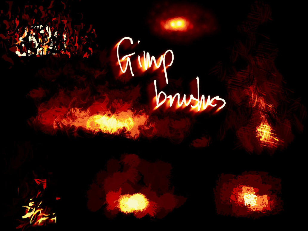 GIMP brushes by shalpin